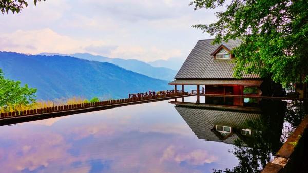Small Japanese Lake work life balance Reflective Management