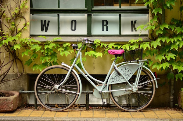 work bicycle Reflective Management 2-day-workweek featured